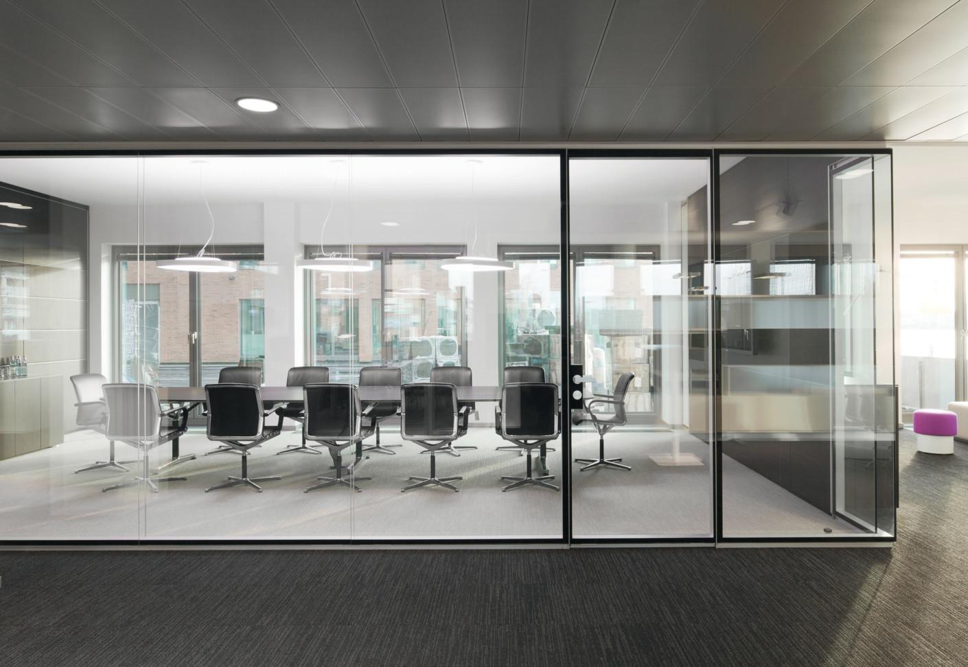 Cloisons de bureaux en verre